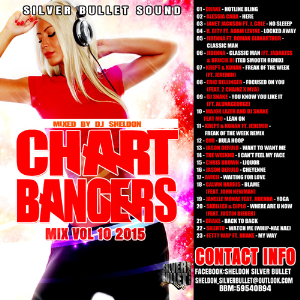 Silver Bullet Sound - Chart Bangers Mix Vol 10 (Nov 2015) | Music | Rap and Hip-Hop