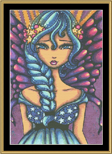 The Fairytale Collection: Jasmine | Crafting | Cross-Stitch | Wall Hangings