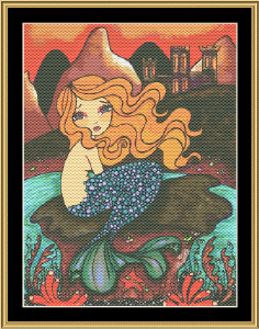 The Fairytale Collection: Little Mermaid | Crafting | Cross-Stitch | Wall Hangings