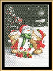 Holiday Bear Ii | Crafting | Cross-Stitch | Other
