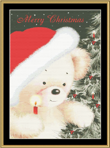 Merry Christmas | Crafting | Cross-Stitch | Wall Hangings