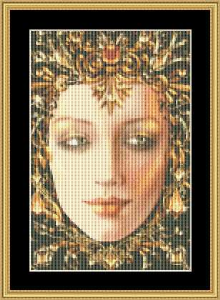 Birthstone Collection - November Small | Crafting | Cross-Stitch | Wall Hangings
