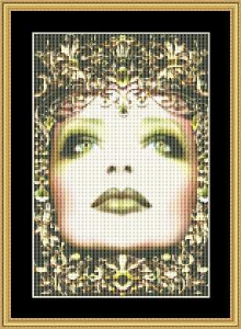 Birthstone Collection - August Small | Crafting | Cross-Stitch | Wall Hangings