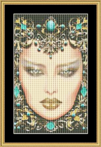 Birthstone Collection - December Small | Crafting | Cross-Stitch | Other