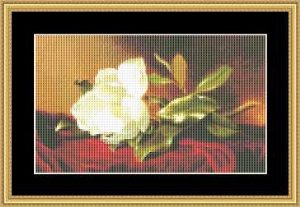Magnolia - Small | Crafting | Cross-Stitch | Wall Hangings