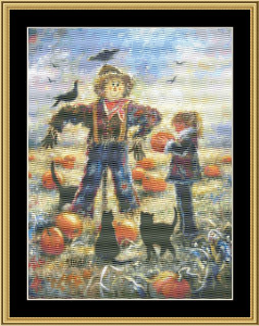 Pumpkin Patch | Crafting | Cross-Stitch | Wall Hangings