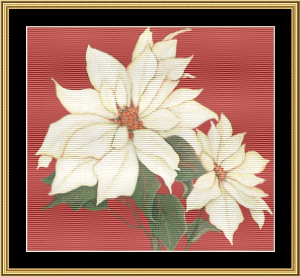 Christmas Blossom Iii | Crafting | Cross-Stitch | Wall Hangings