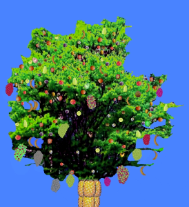 Multi Fruits Tree Image | Photos and Images | Digital Art