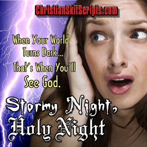 stormy night, holy night