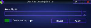 .Net Anti-Decompiler V1.0 | Software | Developer