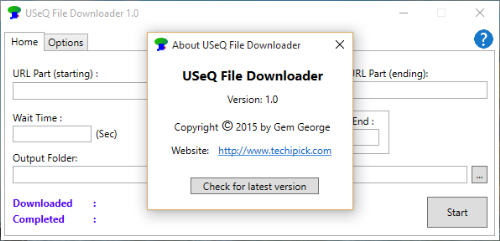 Second Additional product image for - USeQ File Downloader V1.0