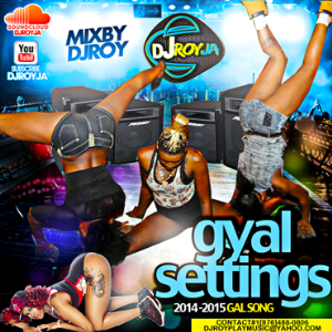 Dj Roy Gyal Settings 2014-2015 Gal Song Mixtape | Music | Reggae