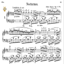 Nocturne No.1, Op.9 No.1 in B-Flat minor, F.Chopin, Scholtz, Ed.C.F.Peters (1904), A5, Tablet Edition (Landscape), 10pp   eBooks   Sheet Music