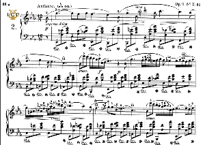 Nocturne No.2, Op. 9 No.2 in E-Flat Major, F.Chopin, Scholtz, Ed.C.F.Peters (1904), A5, Tablet Edition (Landscape), 6pp_ | eBooks | Sheet Music
