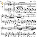Nocturne No.10, 0p.32 No.2 in E-Flat Major, F.Chopin, Scholtz, Ed.C.F.Peters (1904), A5, Tablet Edition (Landscape), 9pp_   eBooks   Sheet Music