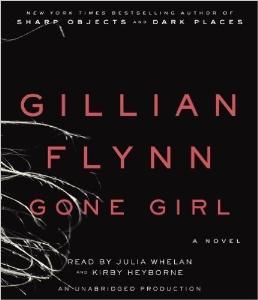 by gillian flynn: gone girl: a novel [audiobook