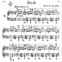Waltz No.11, Op.70 No.1 in G-Flat Major, F.Chopin, Scholtz, Ed.C.F.Peters (1904), A5, Tablet Edition (Landscape), 7pp | eBooks | Sheet Music