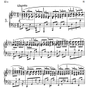 Etude B.130, No.3 in A-Flat Major, F.Chopin, Scholtz, Ed.C.F.Peters (1904), A5, Tablet Edition (Landscape), 4pp | eBooks | Sheet Music