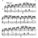 Etude Op.10 No.2 in A minor, F.Chopin, Scholtz, Ed.C.F.Peters (1904), A5, Tablet Edition (Landscape), 8pp   eBooks   Sheet Music