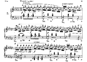 Etude Op.10 No.5 in G-Flat Major, F.Chopin, Scholtz, Ed.C.F.Peters (1904), A5, Tablet Edition (Landscape), 8pp | eBooks | Sheet Music