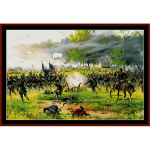 Battle of Antietam - American History cross stitch pattern by Cross Stitch Collectibles | Crafting | Cross-Stitch | Wall Hangings