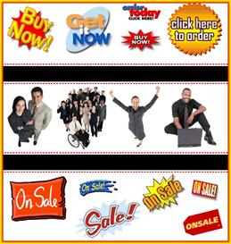 resellers sales and business clipart collection