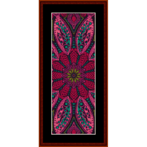 Fractal 527 Bookmark cross stitch pattern by Cross Stitch Collectibles | Crafting | Cross-Stitch | Wall Hangings