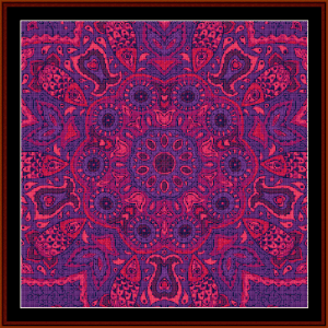 Fractal 525 cross stitch pattern by Cross Stitch Collectibles | Crafting | Cross-Stitch | Wall Hangings
