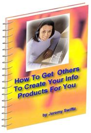 How to Get Others To Create Your Info Products For You | Audio Books | Business and Money