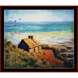 The Custom's House, Morning Effect - Monet cross stitch pattern by Cross Stitch Collectibles | Crafting | Cross-Stitch | Wall Hangings