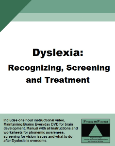 dyslexia recognizing, screening and treating