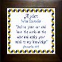 Name Blessings -  Ayden | Crafting | Cross-Stitch | Other