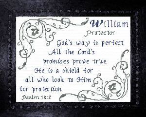 name blessings -  william 4