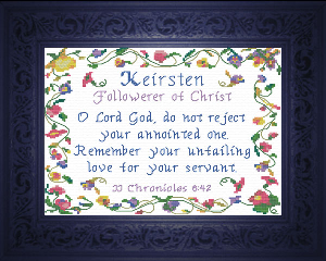 name blessings -  keirsten