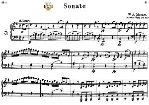 Piano Sonata No.5, K.283 in G Major, W.A. Mozart, Breitkopf Urtext, Reprint Kalmus, Tablet Edition (A5 Landscape), 18pp | eBooks | Sheet Music