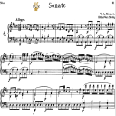 Piano Sonata No.6, K.284 in D Major, W.A.Mozart, Breitkopf Urtext, Reprint Kalmus, Tablet Edition (A5 Landscape), 33pp | eBooks | Sheet Music