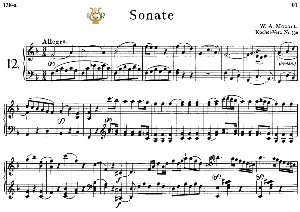 Piano Sonata No.12, K.332 in F Major, W.A Mozart, Breitkopf Urtext, Reprint Kalmus, Tablet Edition (A5 Landscape), 25pp | eBooks | Sheet Music