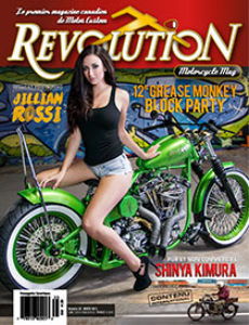 revolution motorcycle magazine vol.35 francais