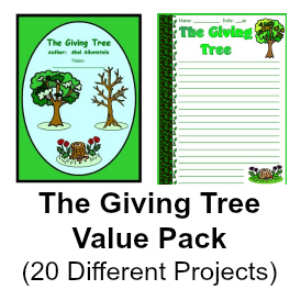 Giving Tree Value Pack (Set of 20 Resources) | Documents and Forms | Templates