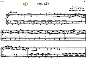Piano Sonata No.16, K.545 in C Major, W.A Mozart, Breitkopf Urtext, Reprint Kalmus, Tablet Edition (A5 Landscape), 14pp | eBooks | Sheet Music