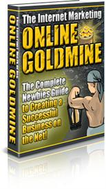 the internet marketing online goldmine - with master resell rights