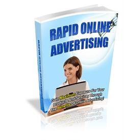 rapid online advertising - with master resell rights