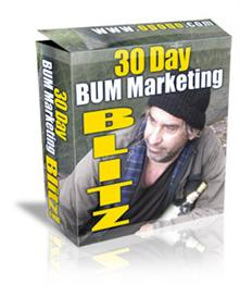 30 Day Bum Marketing Blitz With MRR | eBooks | Internet