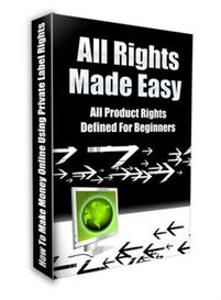 All Rights Made Easy ! Master Resale Rights included. | eBooks | Business and Money