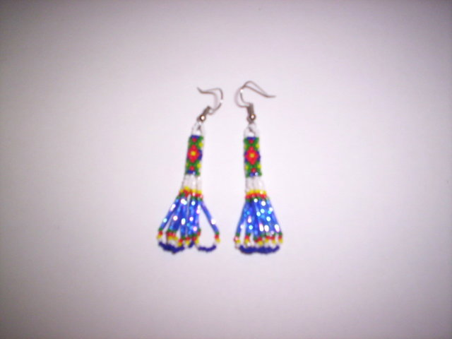 First Additional product image for - 14 Brick Stitch Cylinder/Tube Delica Beading Earring Patterns
