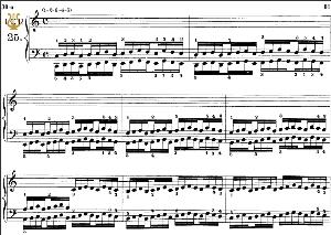 Lesson No. 25 (1-2-3-4-5), The Virtuoso Pianist, Part 2, Ch.Hanon, Ed. Schirmer (PD), Tablet Edition, A5 Landscape, 3pp | eBooks | Sheet Music