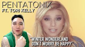 Don't Worry Be Happy with Winter Wonderland Pentatonix Tori Kelly arranged for vocal group | Music | Popular