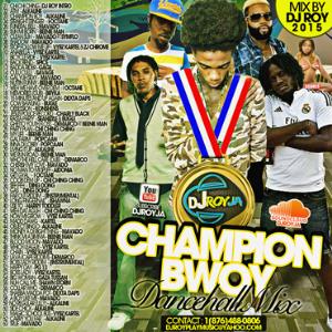 dj roy champion bwoy dancehall mix 215