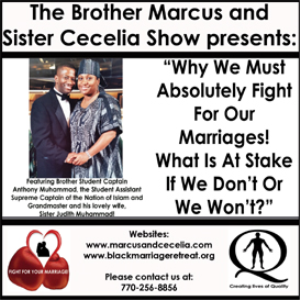 """Why We Must Absolutely Fight For Our Marriages! What Is At Stake If We Don't Or We Won't?"" 
