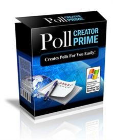 Poll Creator Prime With Master Resale Rights | Software | Business | Other